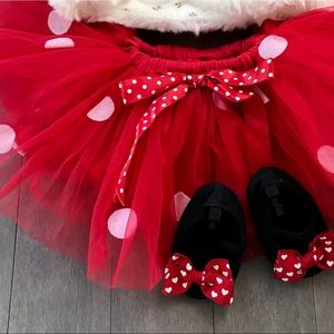 Minnie Mouse Baby girl tutu! Perfect condition!